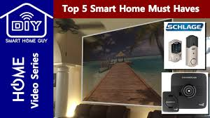 top 5 smart home must have gadgets your diy home of the future