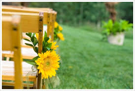 sunflower wedding decorations sunflower wedding theme the wedding specialiststhe wedding