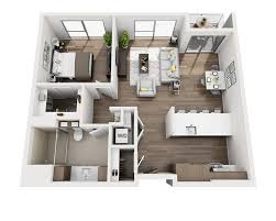 House Plan 1761 Square Feet 57 Ft The Residences At Pacific City Apartment Floor Plans And Pricing