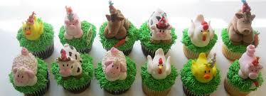farm cake toppers farm animal fondant cupcake toppers jpg www katiskupcakes flickr