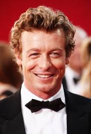 blond hair actor in the mentalist simon baker stars as the charming patrick jane in the cbs show