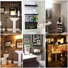 Bathroom Decorating Ideas For Small Bathrooms by My Half Bathroom Decor Inspirations Perfect For The Downstairs