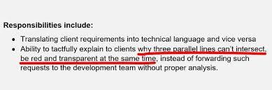 joke of the day best business analyst description
