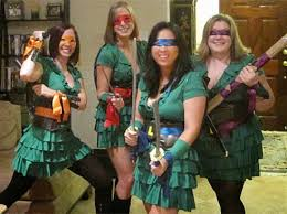 Ninja Turtle Womens Halloween Costumes Tmnt Creative Teenage Mutant Ninja Turtles Halloween Costumes