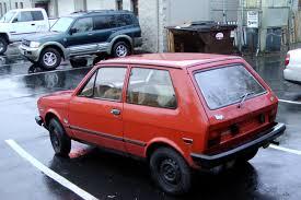 yugo old parked cars 1986 yugo gv great value