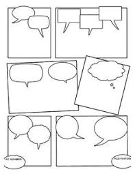 image result for write your own comic strip writing pinterest