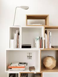 muuto designs storage stacked shelf system designed by jds