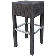 amazon com best choice products outdoor wicker barstool all