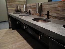 Concrete Bathroom Sink by Concrete Counter Tops In Decorative Concrete