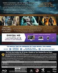 amazon com hobbit the the battle of the five armies 3d blu ray