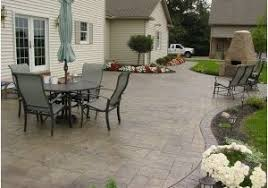 Patio Flooring Ideas Budget Home by Cheap Patio Floor Ideas Home Design Ideas And Pictures