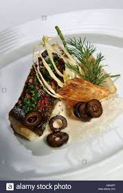 la nouvelle cuisine nouvelle cuisine gourmet fish dish stock photo 39561278 alamy