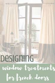 have you had a problem designing window treatments for a french