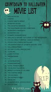countdown to halloween halloween movies u2026 pinteres u2026