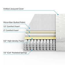 3 12 179 individual master amazon com zinus master ultima comfort 12 inch box top