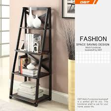 dbt triangle bookshelf with ladder product picture bookcases