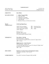 Air Force Resume Examples by Pilot Resume Cover Letter Corpedo Com