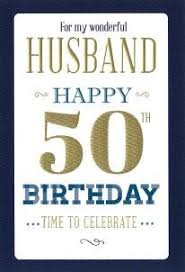 husband 50th birthday birthday card dot2dot cards gifts