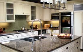 White Cabinets Granite Countertops Kitchen White Cabinets Granite Countertops Kitchen Best Images
