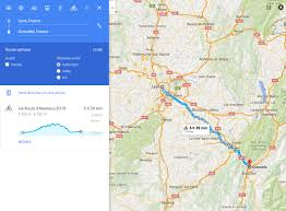 France On A World Map by How Easy Hard Is It To Go From Lyon To Grenoble France On A 50cc
