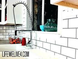 installing subway tile backsplash in kitchen installing subway tile backsplash dsmreferral