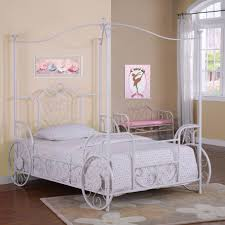 Twin Bed Canopies by Powell Princess Emily Carriage Canopy Bed 374 042