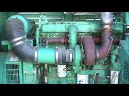 cummins lta10 g1 230kw 480v enclosed w tank diesel generator set