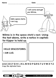 lug and the giant storks capital letters english worksheets