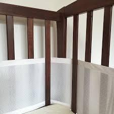 White Mini Crib by Amazon Com Premium Safebaby Breathable Mesh Crib Liner Bumper