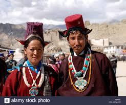ladakh clothing a ladakhi woman and wearing traditional ladakhi dress in