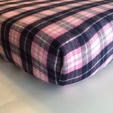 Flannel Crib Bedding Flannel Plaid Crib Sheet Winter Baby Bedding Gender