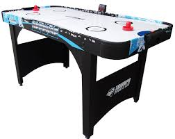 air powered hockey table triumph sports usa defense 5 air powered hockey table with