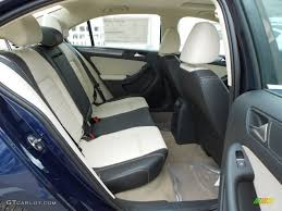 2012 Volkswagen Jetta Interior 2 Tone Cornsilk Black Interior 2012 Volkswagen Jetta Sel Sedan