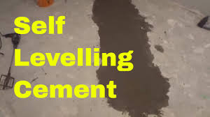 Diy Basement Flooring Using Self Levelling Cement In My Basement Diy Levelling A