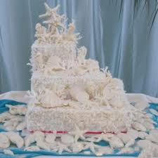 beach wedding cakes home