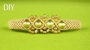 bracelet bead tutorials images Wavy chevron bracelet with beads tutorial jpg
