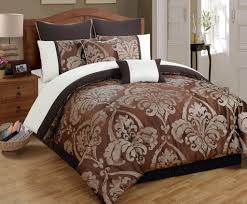 Brown Queen Size Comforter Sets Bedroom Astounding White Queen Bedding Set With Duvet Cover