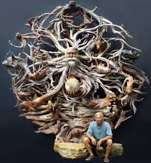 creative wood sculptures 30 beautiful and creative wood carving sculptures and designs