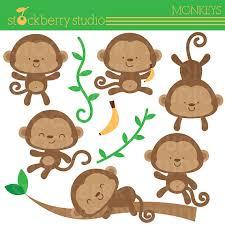 baby shower monkey monkey baby shower clipart