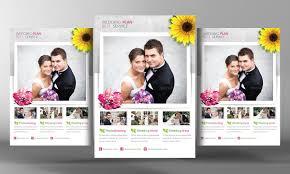 wedding planning flyer template flyer templates creative market
