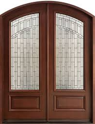 furniture the advantage of using double entry doors for home than