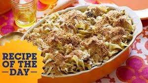 Food Network The Kitchen Recipe Recipe Of The Day Rachael U0027s Quick Turkey Noodle Casserole Food