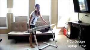 Laptop Couch Desk by Laptop Table Desk Youtube