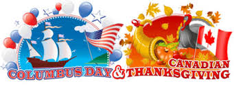 columbus day canadian thanksgiving social network