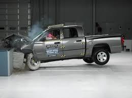 wrecked dodge dakota for sale 2008 dodge dakota crew cab moderate overlap iihs crash test