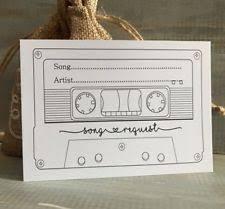 wedding song request cards wedding rsvp cards ebay