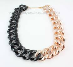 black gold chain necklace images 40 black gold chain jona high tech black ceramic gold chain jpg