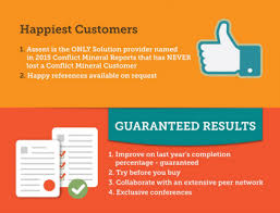 conflict minerals reporting template infographic 47 reasons why companies choose assent for their