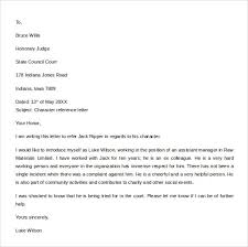templates sample character reference letter template success