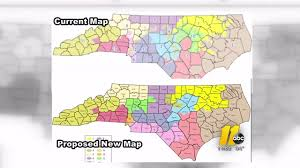 Map Nc U S Supreme Court Declines Stay In Nc Redistricting Abc11 Com